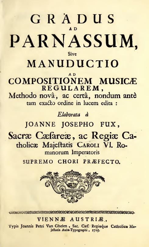 Johann Joachim Fux - szkoła kompozycji