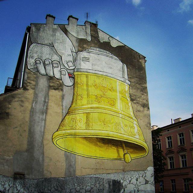 Dźwięki jak malowane. Murale wKrakowie 11