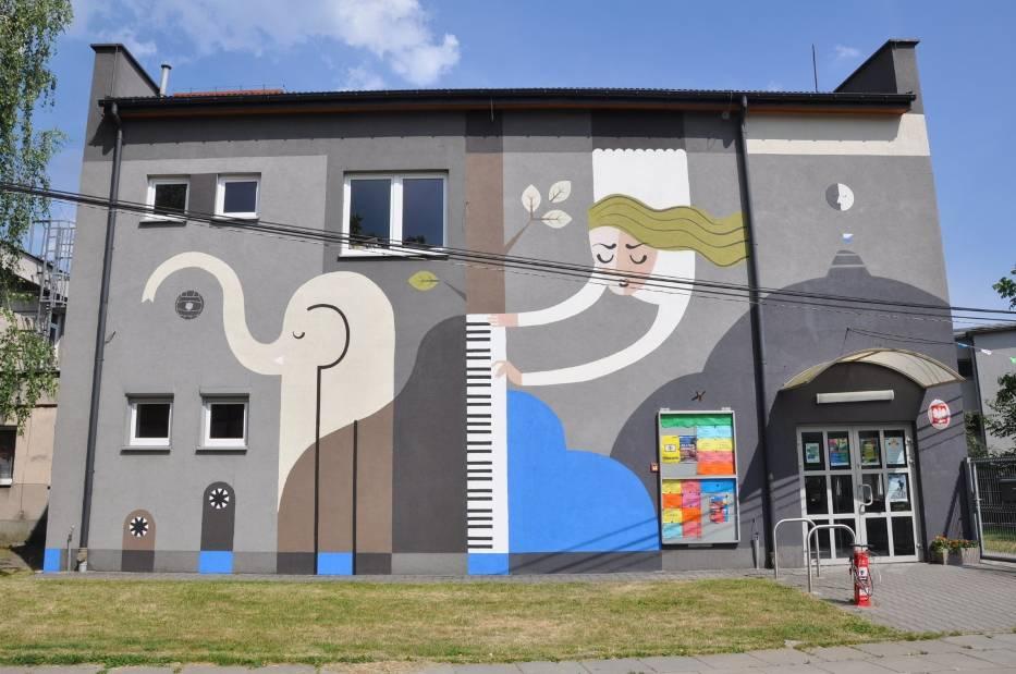 Dźwięki jak malowane. Murale wKrakowie 7