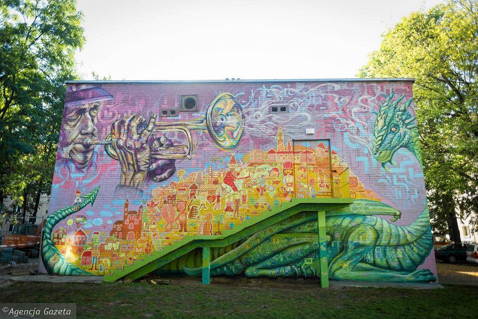 Dźwięki jak malowane. Murale wKrakowie 8