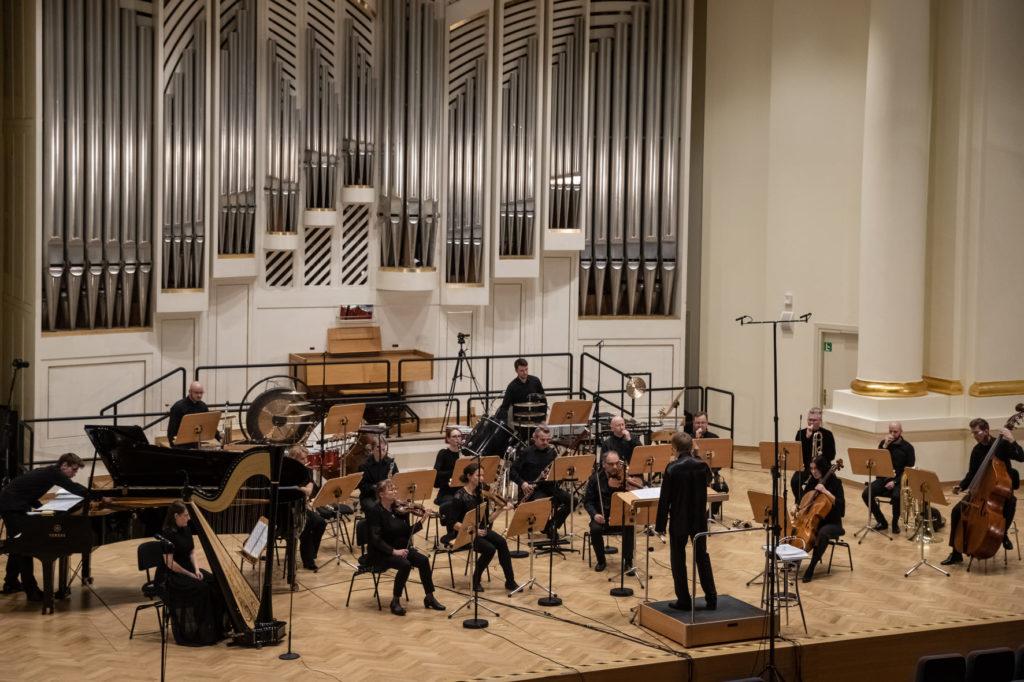 Orkiestra Muzyki Nowej, Szymon Bywalec, fot.Anna Kaczmarz