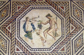 Mozaika, Dionizos